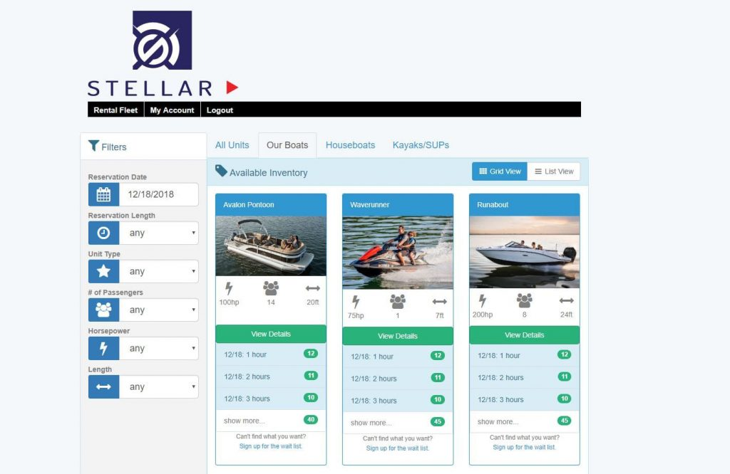 Online Boat Booking Software – Stellar IMS