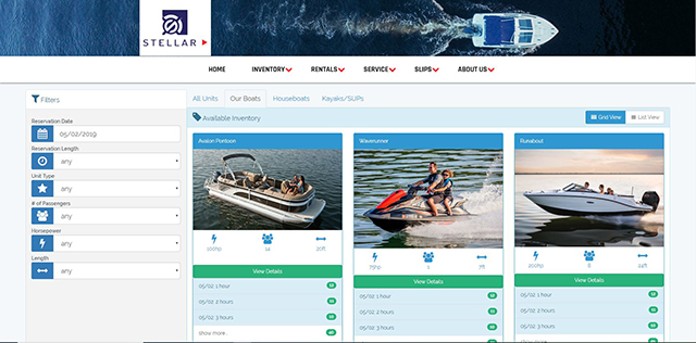 Boat Rental Management Software